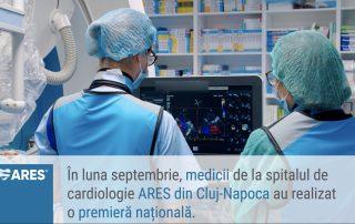 Premiera Medicala la Cluj - Napoca - Mitraclip